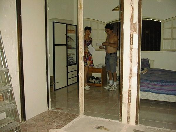 la r novation de la salle de bain 2000 le blog fifi ou permaculture en provence. Black Bedroom Furniture Sets. Home Design Ideas
